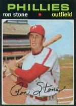 1971 Topps Baseball Cards      366     Ron Stone
