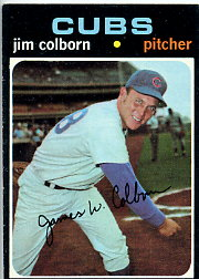 1971 Topps Baseball Cards      038      Jim Colborn RC