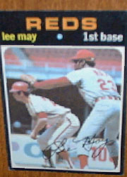 1971 Topps Baseball Cards      040      Lee May
