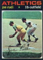 1971 Topps Baseball Cards      407     Joe Rudi