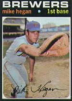 1971 Topps Baseball Cards      415     Mike Hegan