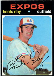 1971 Topps Baseball Cards      042      Boots Day
