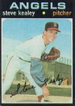1971 Topps Baseball Cards      043      Steve Kealey