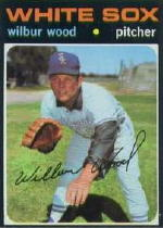 1971 Topps Baseball Cards      436     Wilbur Wood