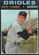 1971 Topps Baseball Cards      453     Terry Crowley