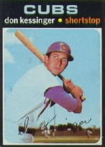1971 Topps Baseball Cards      455     Don Kessinger