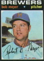 1971 Topps Baseball Cards      456     Bob Meyer