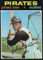 1971 Topps Baseball Cards      047      Johnny Jeter
