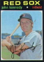 1971 Topps Baseball Cards      498     John Kennedy