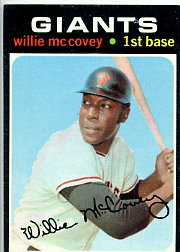 1971 Topps Baseball Cards      050      Willie McCovey