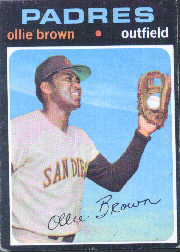 1971 Topps Baseball Cards      505     Ollie Brown