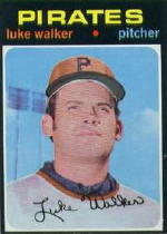 1971 Topps Baseball Cards      534     Luke Walker