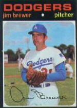 1971 Topps Baseball Cards      549     Jim Brewer