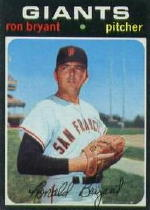 1971 Topps Baseball Cards      621     Ron Bryant