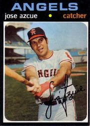 1971 Topps Baseball Cards      657     Jose Azcue