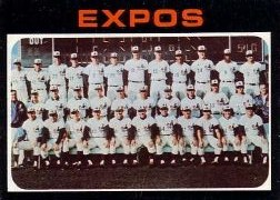 1971 Topps Baseball Cards      674     Montreal Expos TC