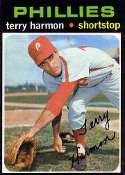 1971 Topps Baseball Cards      682     Terry Harmon