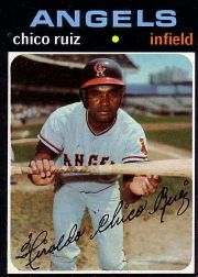 1971 Topps Baseball Cards      686     Chico Ruiz SP