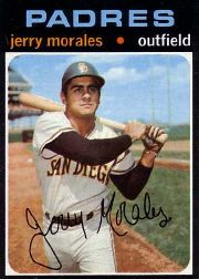 1971 Topps Baseball Cards      696     Jerry Morales