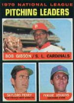 1971 Topps Baseball Cards      070      Bob Gibson/Gaylord Perry/Fergie Jenkins LL