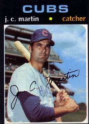 1971 Topps Baseball Cards      704     J.C. Martin SP