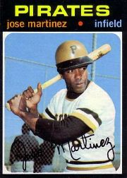 1971 Topps Baseball Cards      712     Jose Martinez