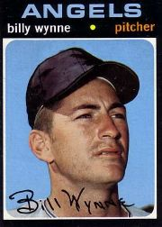 1971 Topps Baseball Cards      718     Billy Wynne