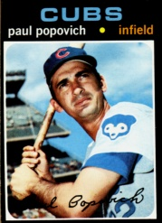 1971 Topps Baseball Cards      726     Paul Popovich