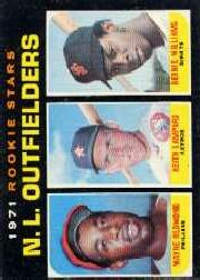 1971 Topps Baseball Cards      728     Redmond/Lampard/Williams RC