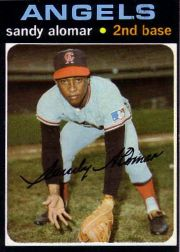 1971 Topps Baseball Cards      745     Sandy Alomar SP