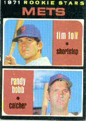 1971 Topps Baseball Cards      083      Tim Foli RC/Randy Bobb