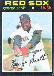 1971 Topps Baseball Cards      009       George Scott