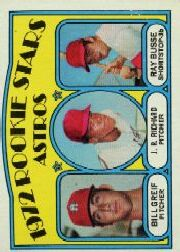 1972 Topps Baseball Cards      101     Bill Grief/J.R.Richard/Ray Busse RC