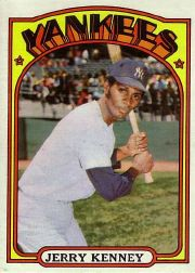 1972 Topps Baseball Cards      158     Jerry Kenney