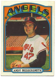 1972 Topps Baseball Cards      160     Andy Messersmith