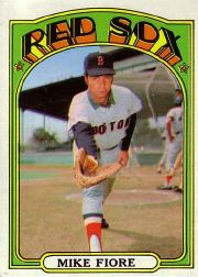 1972 Topps Baseball Cards      199     Mike Fiore