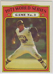 1972 Topps Baseball Cards      227     Nellie Briles WS
