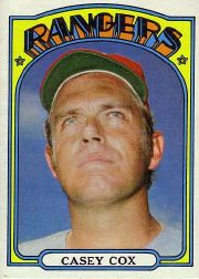 1972 Topps Baseball Cards      231     Casey Cox