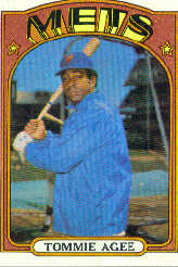 1972 Topps Baseball Cards      245     Tommie Agee