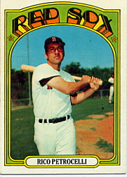 1972 Topps Baseball Cards      030      Rico Petrocelli