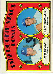 1972 Topps Baseball Cards      372     Lance Clemons RC/Monty Montgomery RC