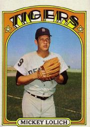 1972 Topps Baseball Cards      450     Mickey Lolich