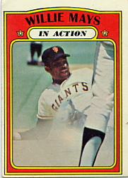 1972 Topps Baseball Cards      050      Willie Mays IA