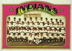 1972 Topps Baseball Cards      547     Cleveland Indians TC