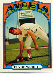 1972 Topps Baseball Cards      055      Clyde Wright