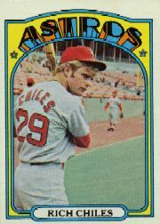 1972 Topps Baseball Cards      056      Rich Chiles RC