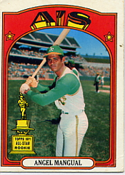 1972 Topps Baseball Cards      062      Angel Mangual