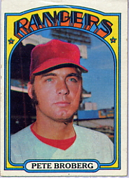 1972 Topps Baseball Cards      064      Pete Broberg RC