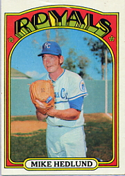 1972 Topps Baseball Cards      081      Mike Hedlund