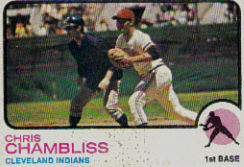 1973 Topps Baseball Cards      011      Chris Chambliss UER